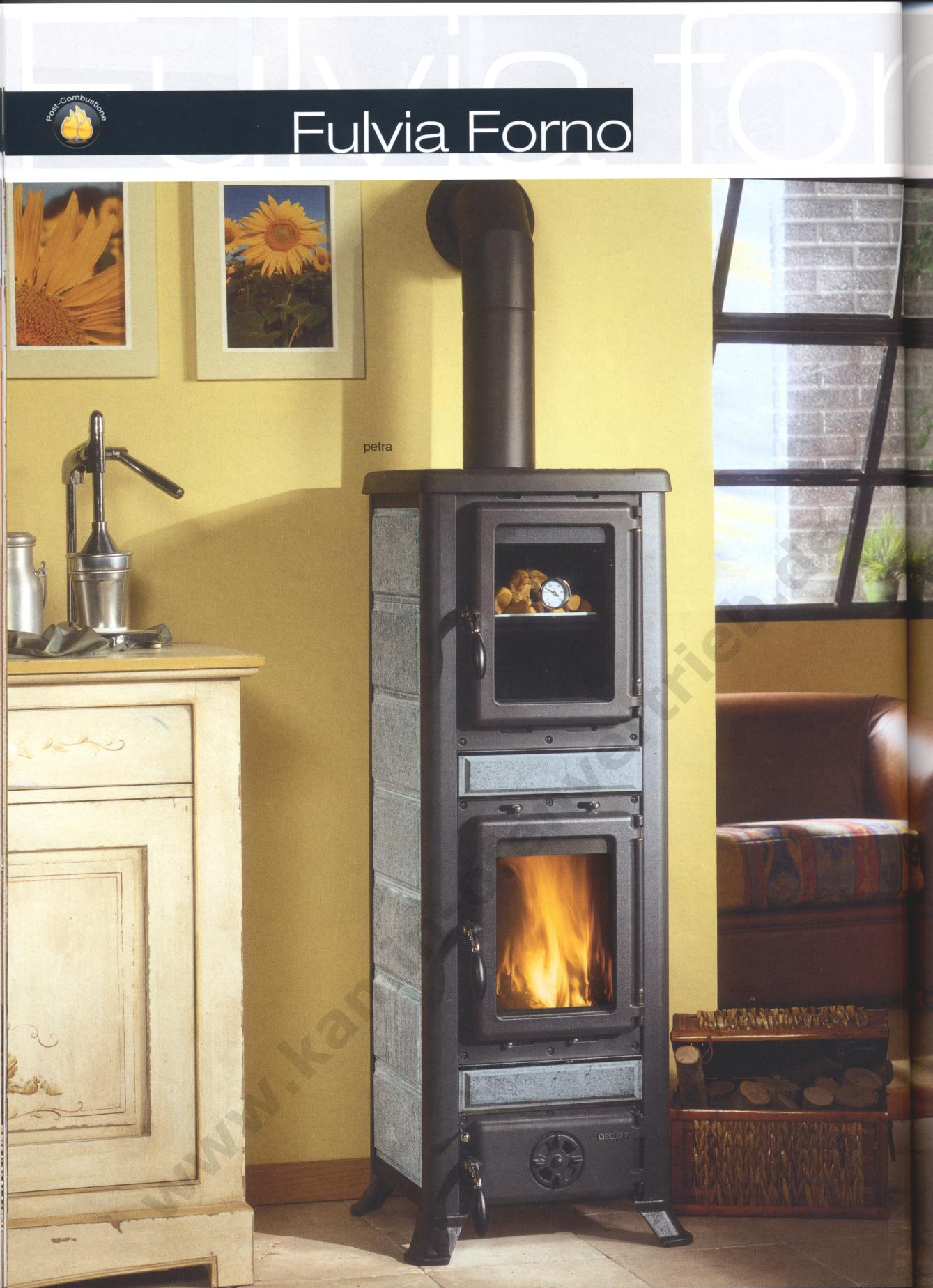 la nordica kaminofen fulvia forno liberty bordeaux pergamena petra. Black Bedroom Furniture Sets. Home Design Ideas